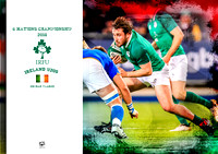 Eoghan Clarke - Ireland U20s 6 Nations 2018
